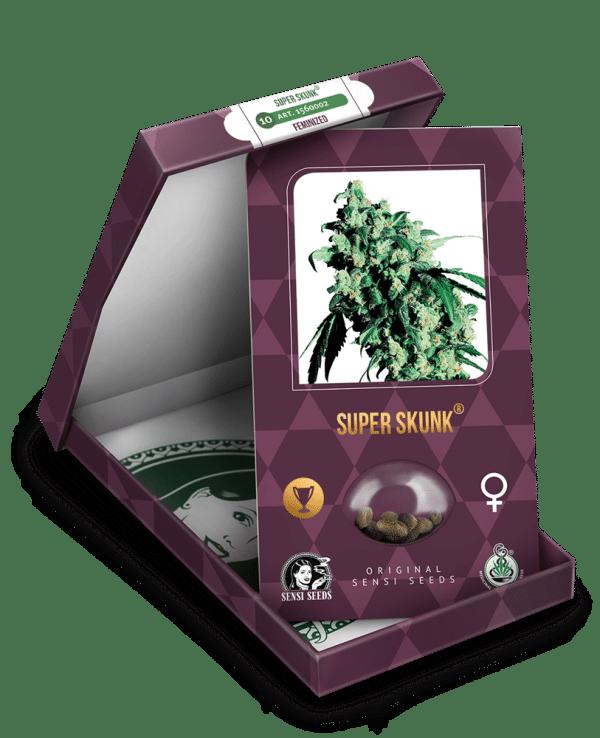 Cannabisfrø Sensi Seeds Super Skunk 2