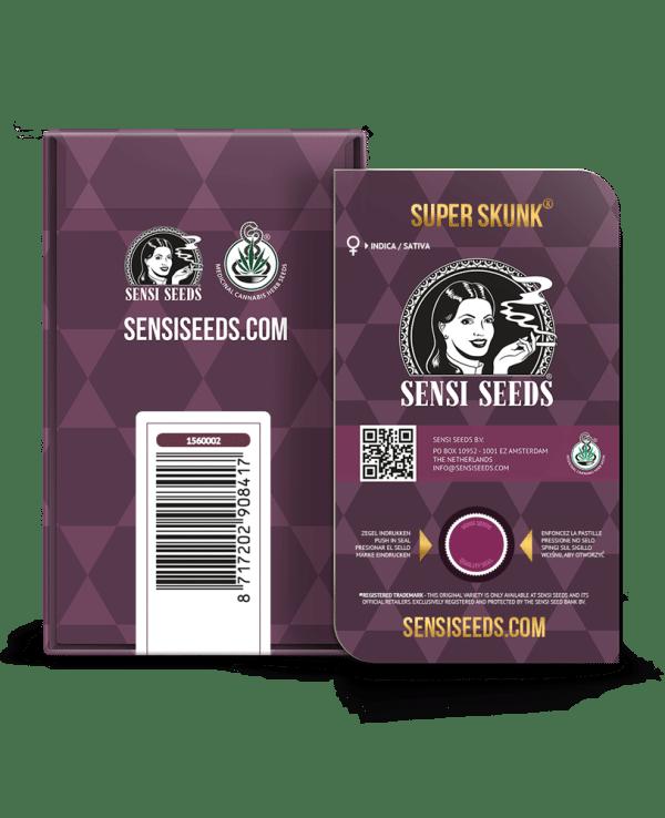 Cannabisfrø Sensi Seeds Super Skunk 5