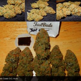 Auto Cannabisfrø West Coast OG Fast Buds
