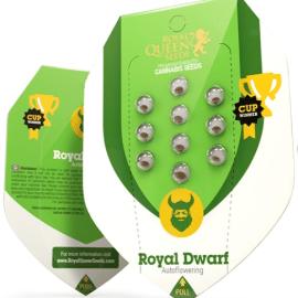 Auto Cannabisfrø Royal Dwarf Royal Queen Seed