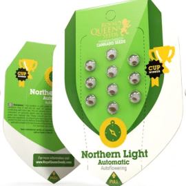 Skunkfrø pakker Northern Lights Automatic Royal Queen