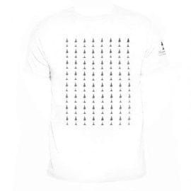 T-shirt Humboldt hvid