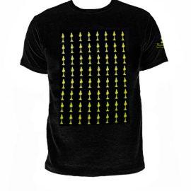 T-shirt Humboldt sort