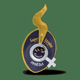 Amnesia Super Strains feminiserede skunkfrø cannabisfrø pakke