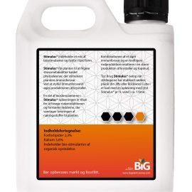 BiG Plant Science gødning Part X Stimulus 1 L bagside
