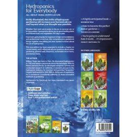 Hydroponics for Everybody bog om hydroponisk dyrkning bagside