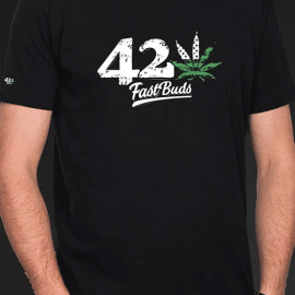 Fast Buds T-shirt sort