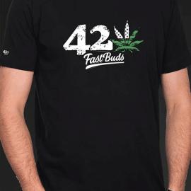 Fast Buds T-shirt sort
