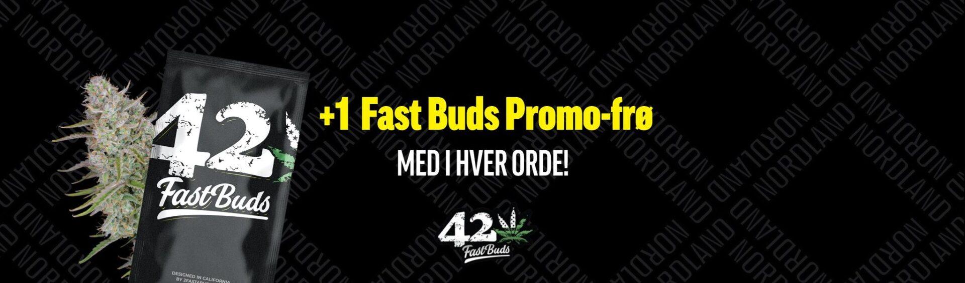 fast buds skunkfrø promo cannabisfrø