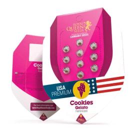 Cookies Gelato Royal Queen Cannabisfrø Skunkfrø
