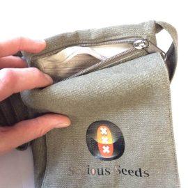 Serious Seeds skuldertaske